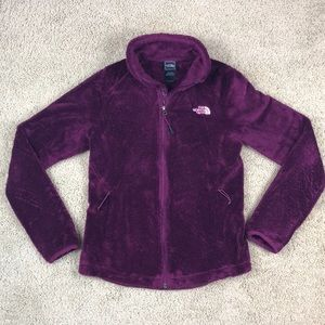 The North Face Furry Zip Up Sweater Women's XS